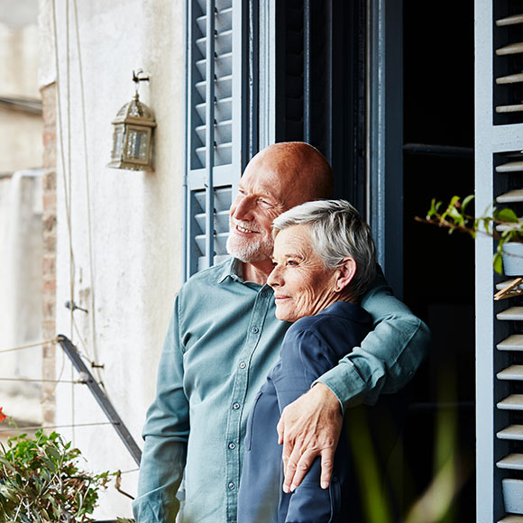 Couple enjoys the protection of long term disability insurance