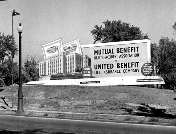 Mutual of Omaha billboard