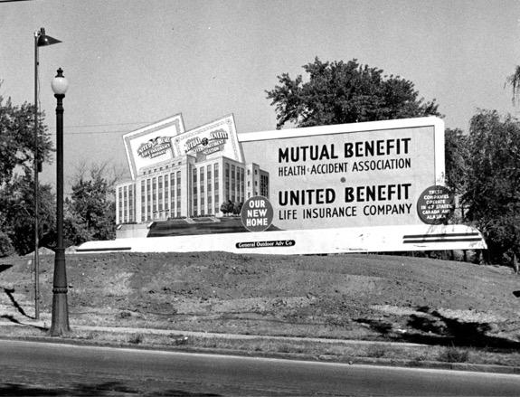 Mutual of Omaha billboard